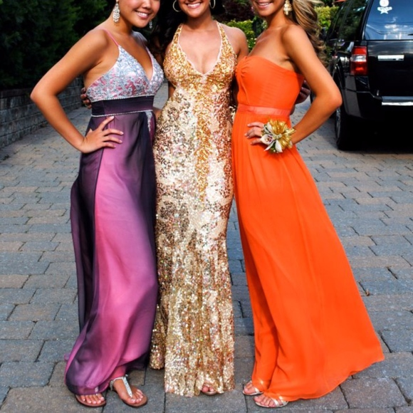 Mac Duggal Dresses & Skirts - Cassandra Stone Sequined Formal Prom Dress